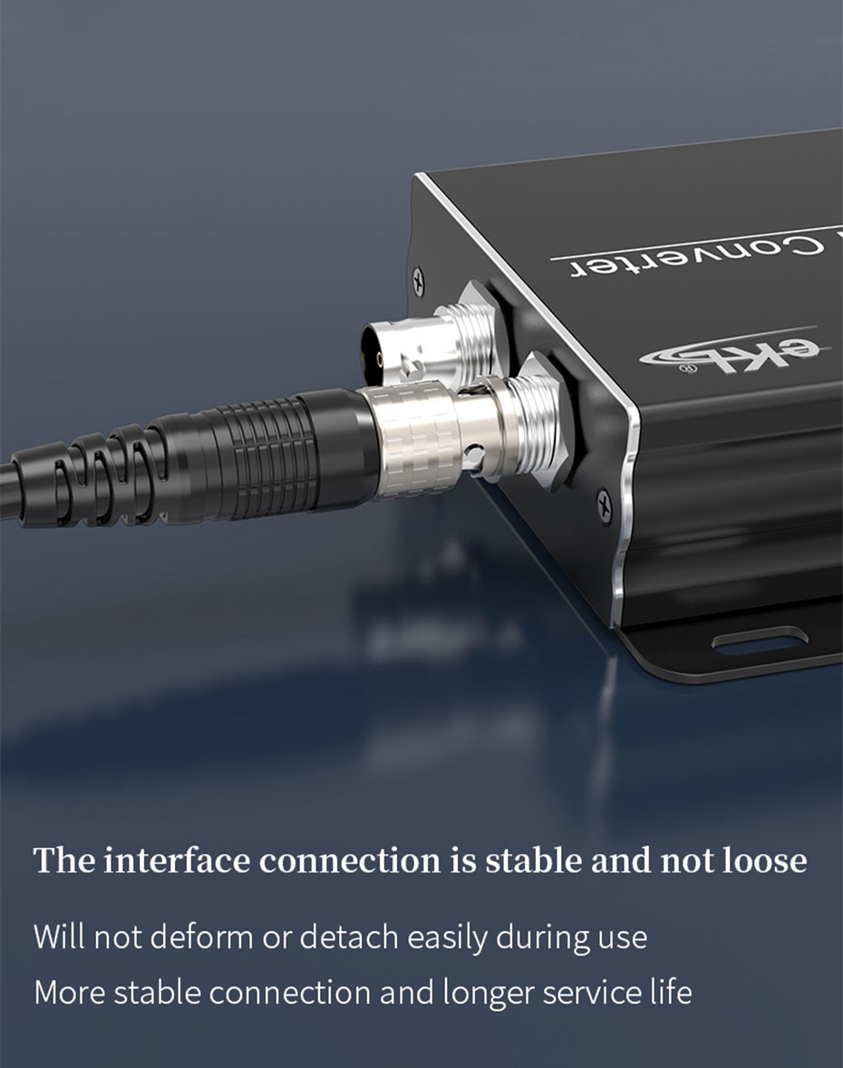 SDI cable interface is stable