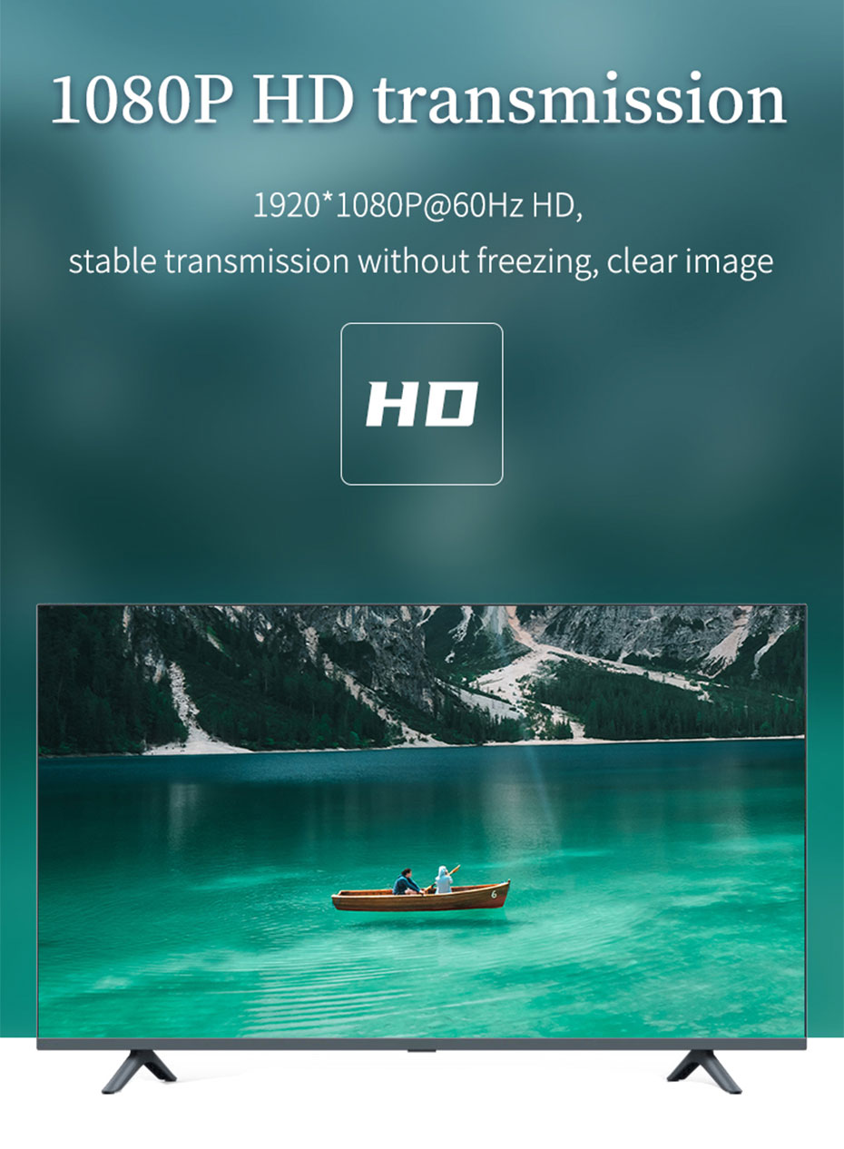 AHD/TVI/CVI to HDMI converter AHD supports 1920*1080p@60Hz resolution