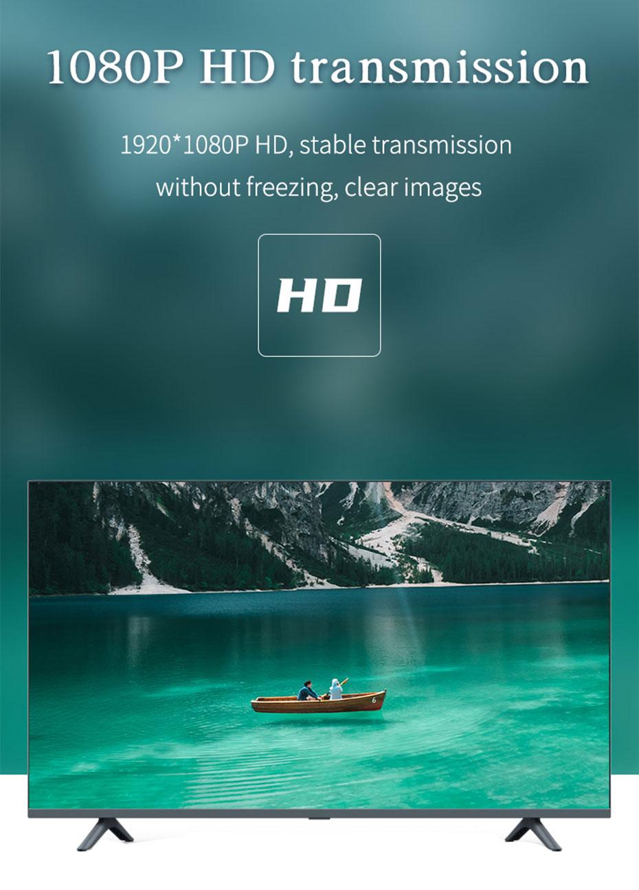 S-Video/AV to HDMI converter AVH supports 1920*1080p HD resolution