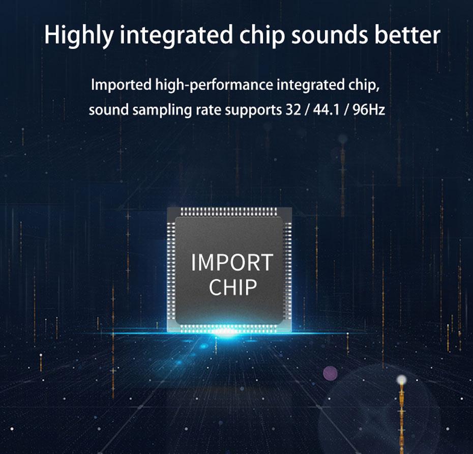 SPDIF digital audio converter DAM uses integrated chip, full sound quality