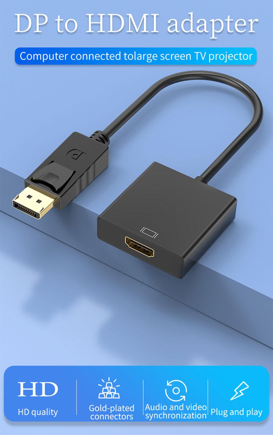 DP to HDMI converter DH
