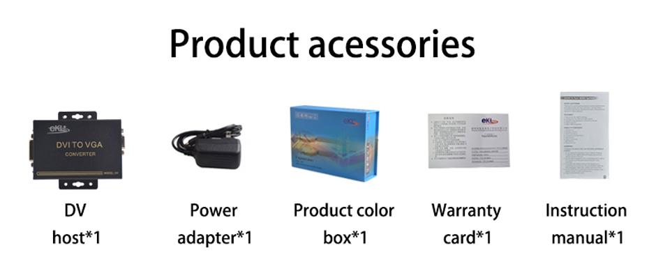 DVI to VGA Converter DV Accessories