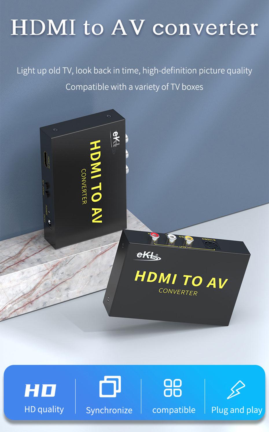 HDMI to AV converter HAV