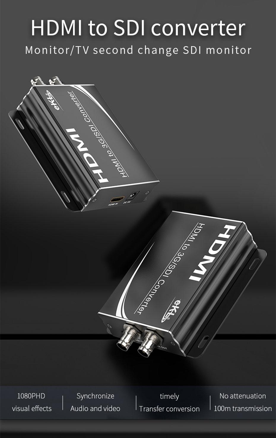 Engineering grade HDMI to SDI converter HSD