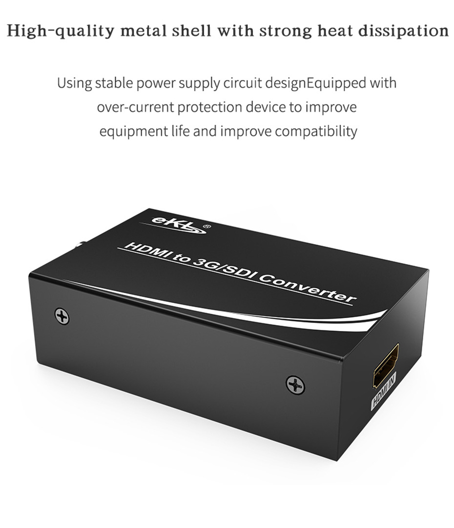 HDMI to SDI HD converter HSD-1 uses a metal shell design