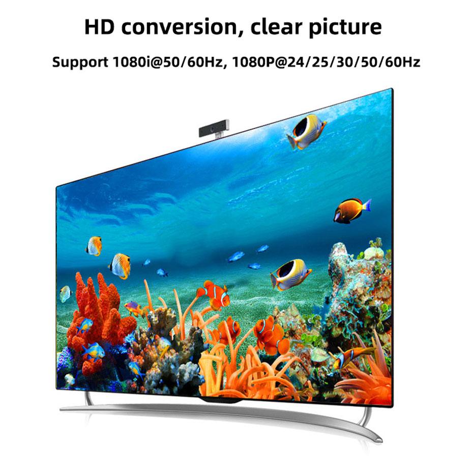 SDI to HDMI converter SDH supports HD resolution conversion