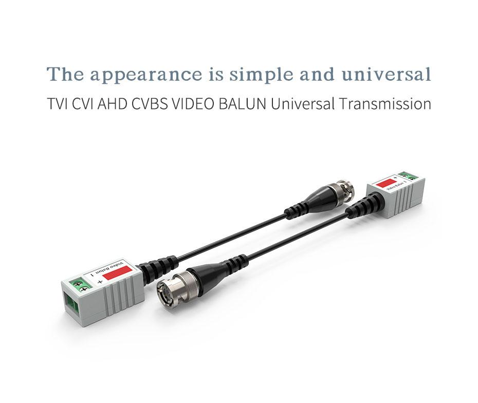 300m coaxial HD analog transmitter TZ300 supports TVI/CVI/AHD/CVBS/VIDEO/BALUN transmission