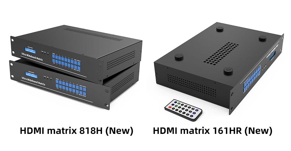 [2021 New] HDMI Matrix 818H/161HR