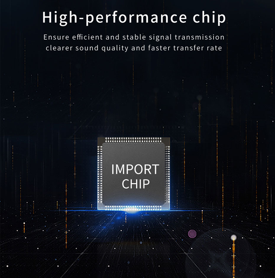 Audio Optical Transceiver 2SA uses high performance chips with fast transfer speed