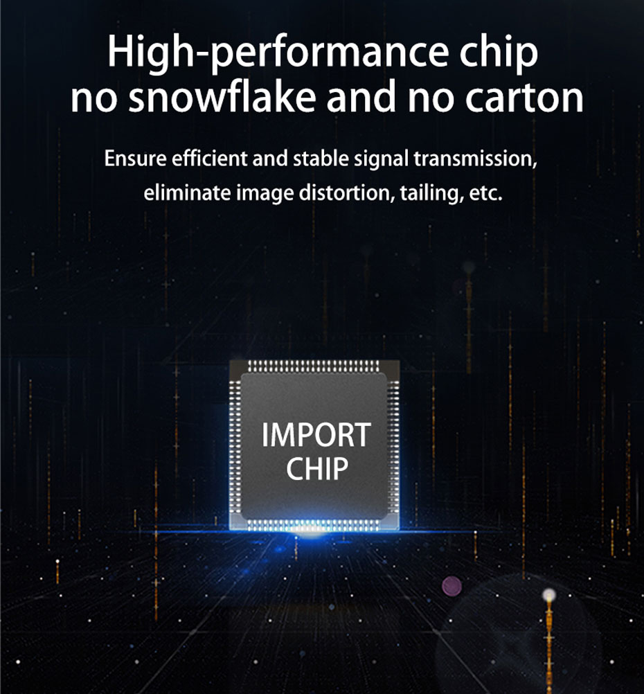 DVI Optical Transceiver DF200 uses high-performance chips to ensure stable signal transmission, eliminating snow and snow