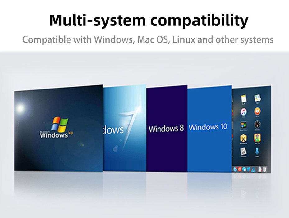 DVI KVM cat6 extender DU200 is compatible with multiple operating systems