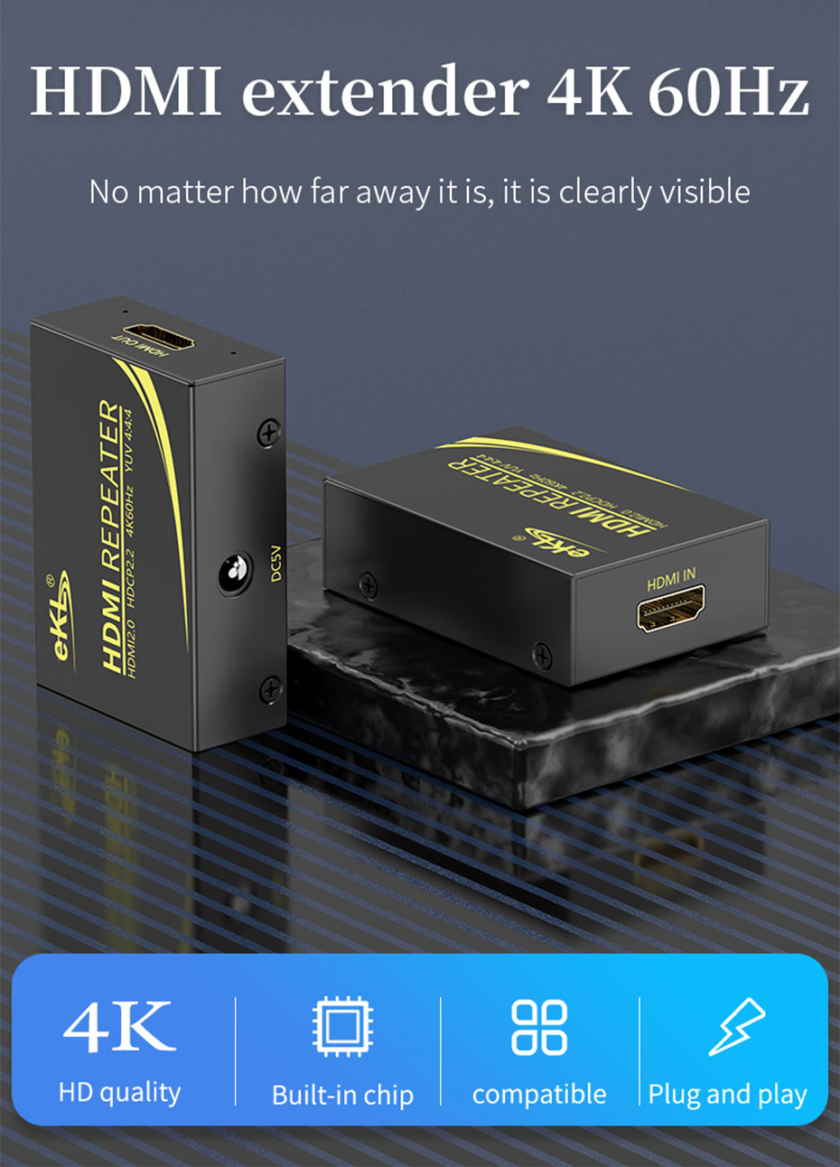 50m HDMI HD signal amplifier extender HA