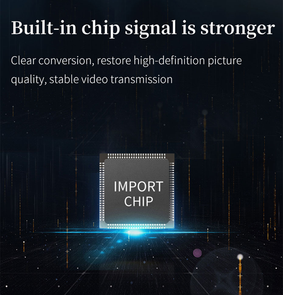 HDMI extender 4K 100 meters HC100 built-in high-quality chip