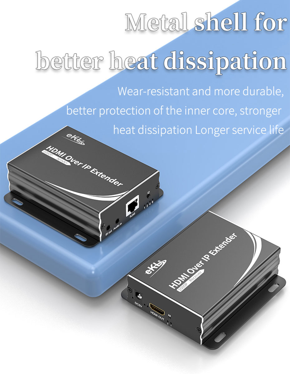 150m HDMI network extender 1 pair multi HE150 built-in imported chip