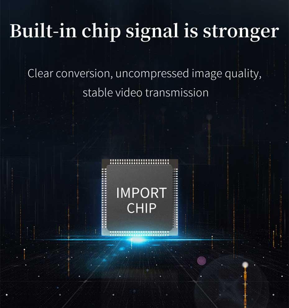 HDMI multi-mode fiber optic extender HF10 built-in high-performance chip