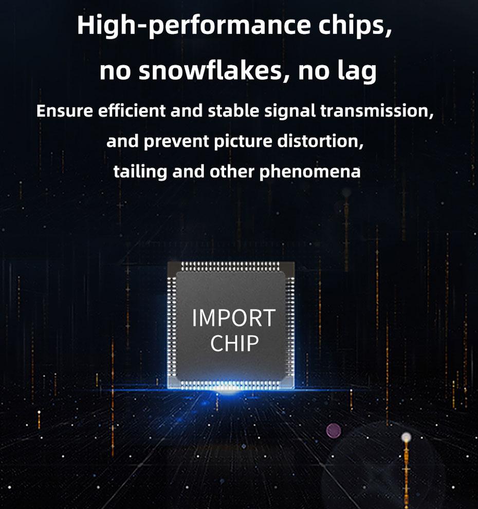 HDMI fiber extender uses high-performance chips