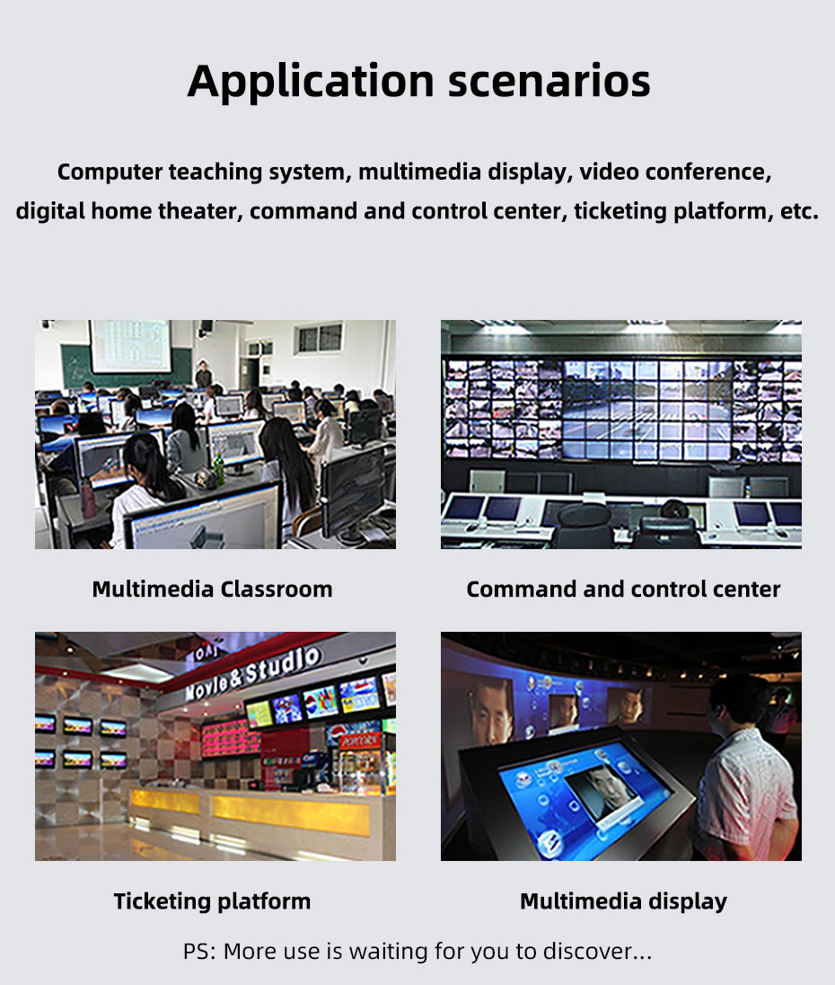 Some application scenarios of HDMI fiber extender