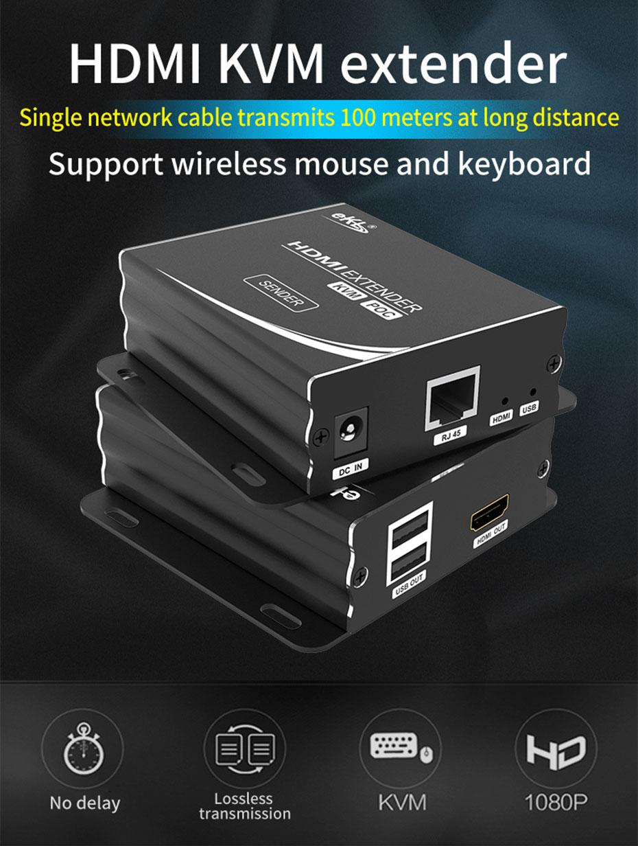 HDMI KVM single cable extender HU12