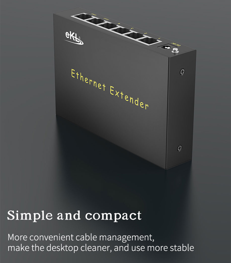 300m network extender 1 in 4 out NE300 simple and compact