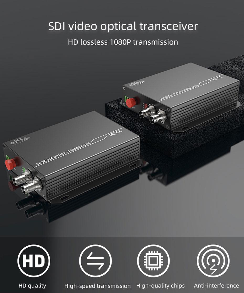 20km SDI optical transceiver SDF01