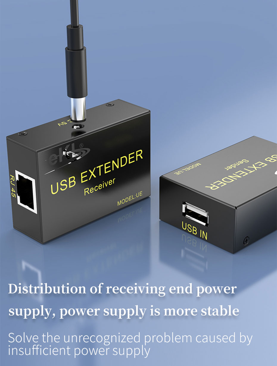 USB mouse keyboard extender UE distribution receiving end power *1