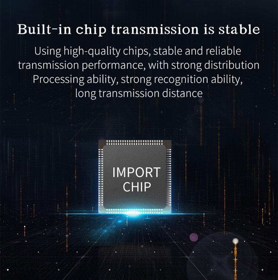 USB fiber optic extender UF01 built-in chip, stable transmission
