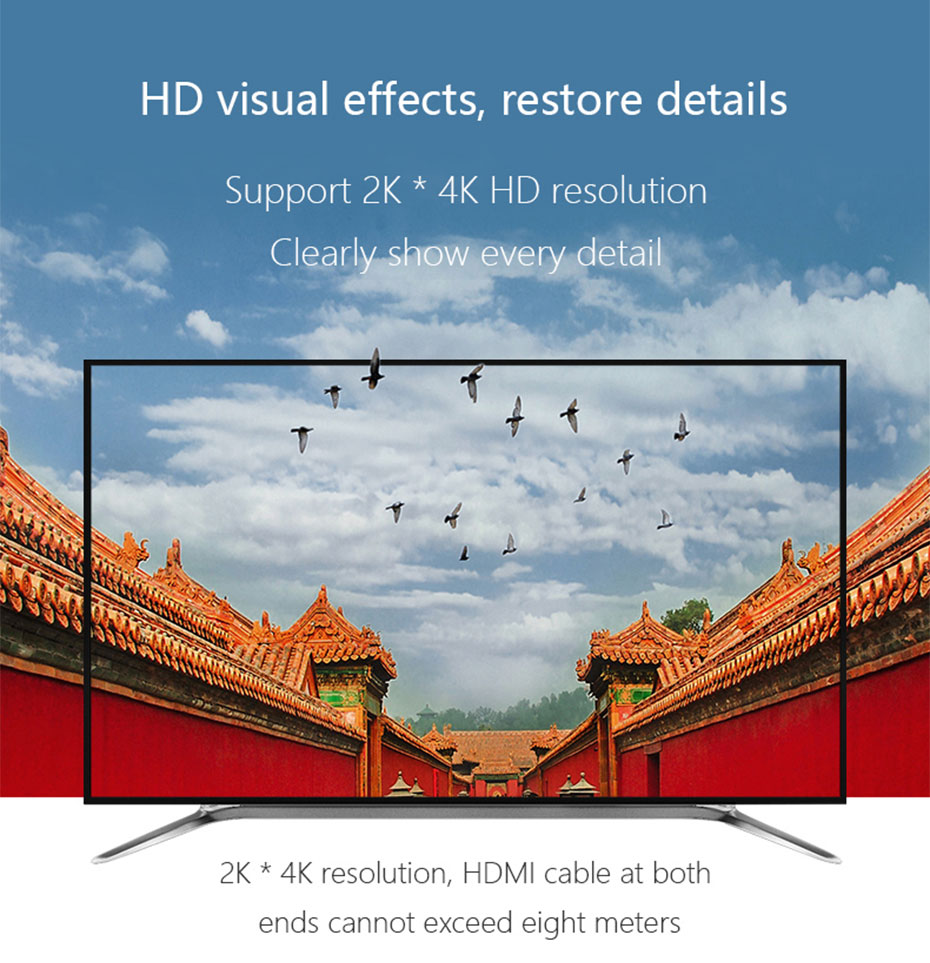 HDMI2.0 KVM switch 4 in 1 out 41HK2.0 supports 2k*4k HD resolution