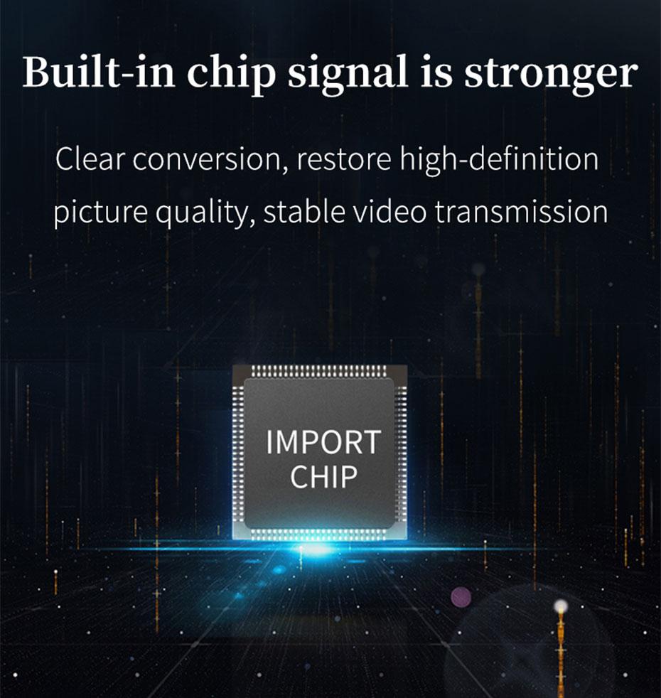 100m DVI KVM single network cable extender DCK100 uses high-quality chips