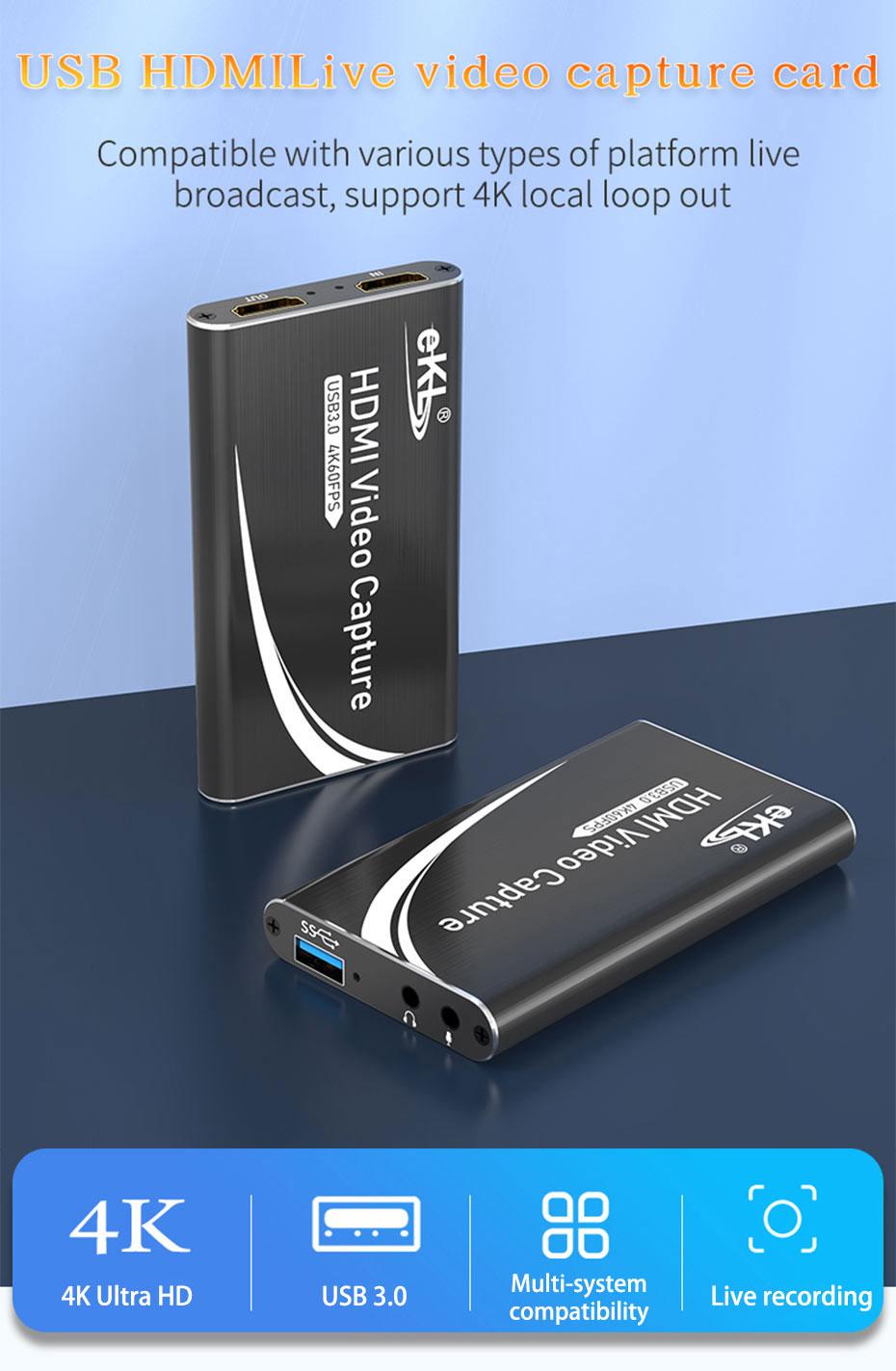 USB3.0 HDMI video capture card HUC03