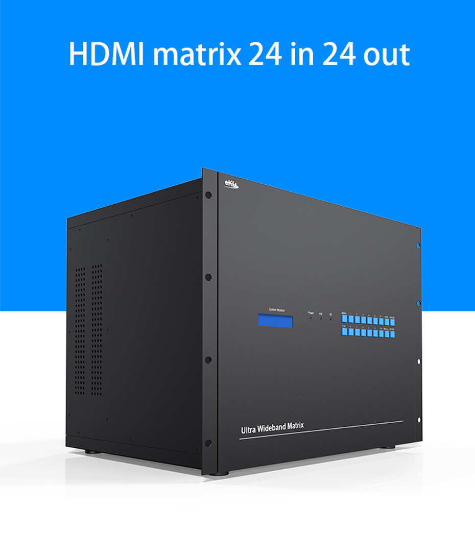 HDMI matrix 24 in 24 out 2424H