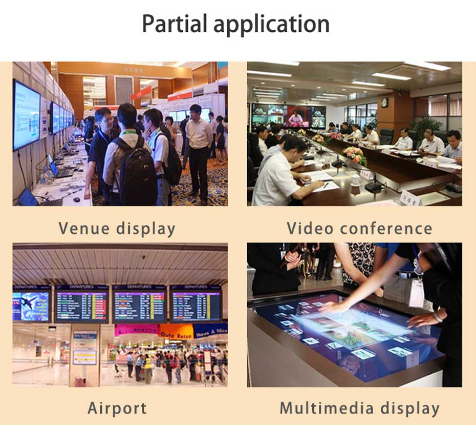HDMI matrix 8 input and 8 output 818H application scenarios