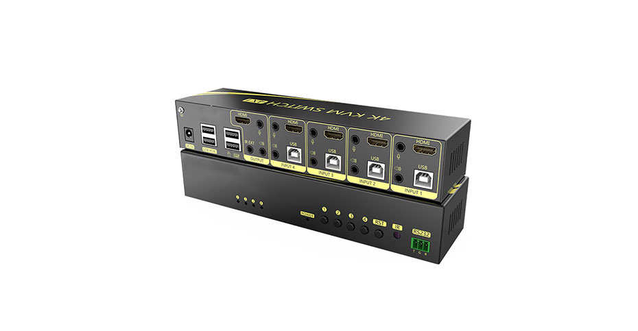 Overview of 4-Port HDMI KVM Switch 41HK2.0