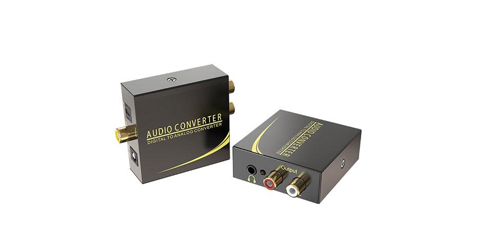 Digital audio to analog audio converter DAN