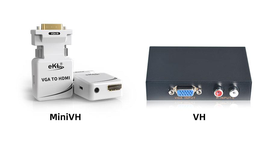 VGA to HDMI converter MiniVH and VH