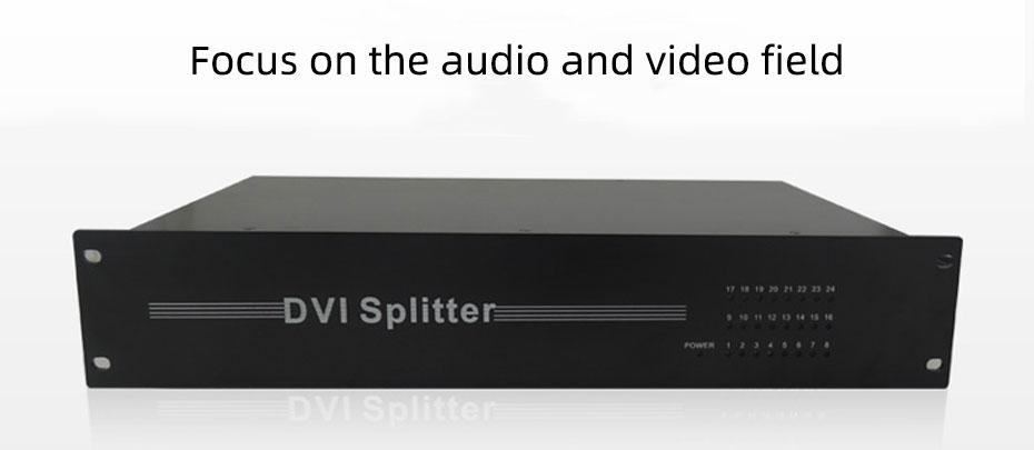 DVI splitter 1 point 24 124D use own brand