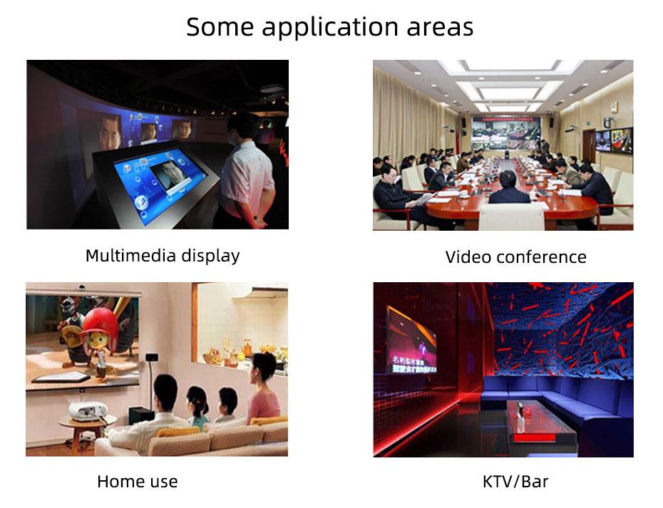 DVI splitter 1 in 24 out 124D application range