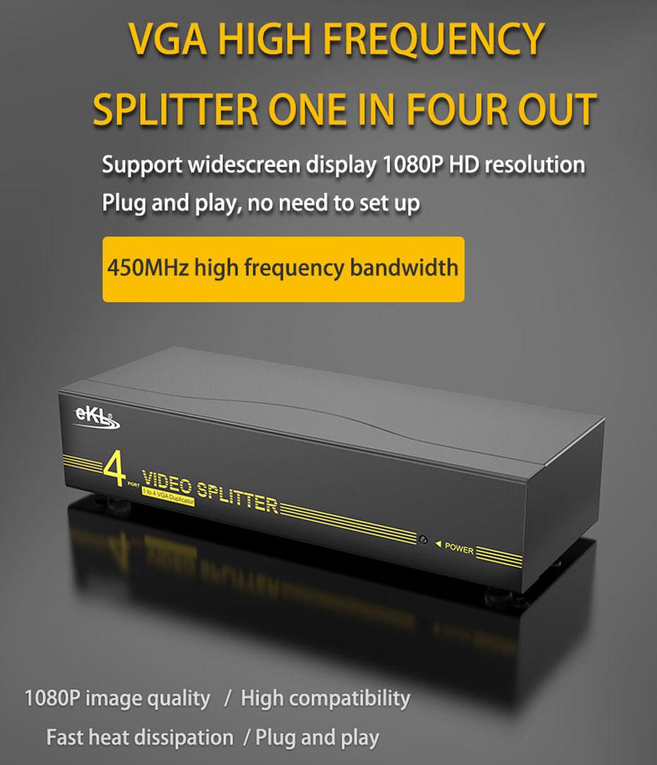VGA splitter 1 in 4 out 94H
