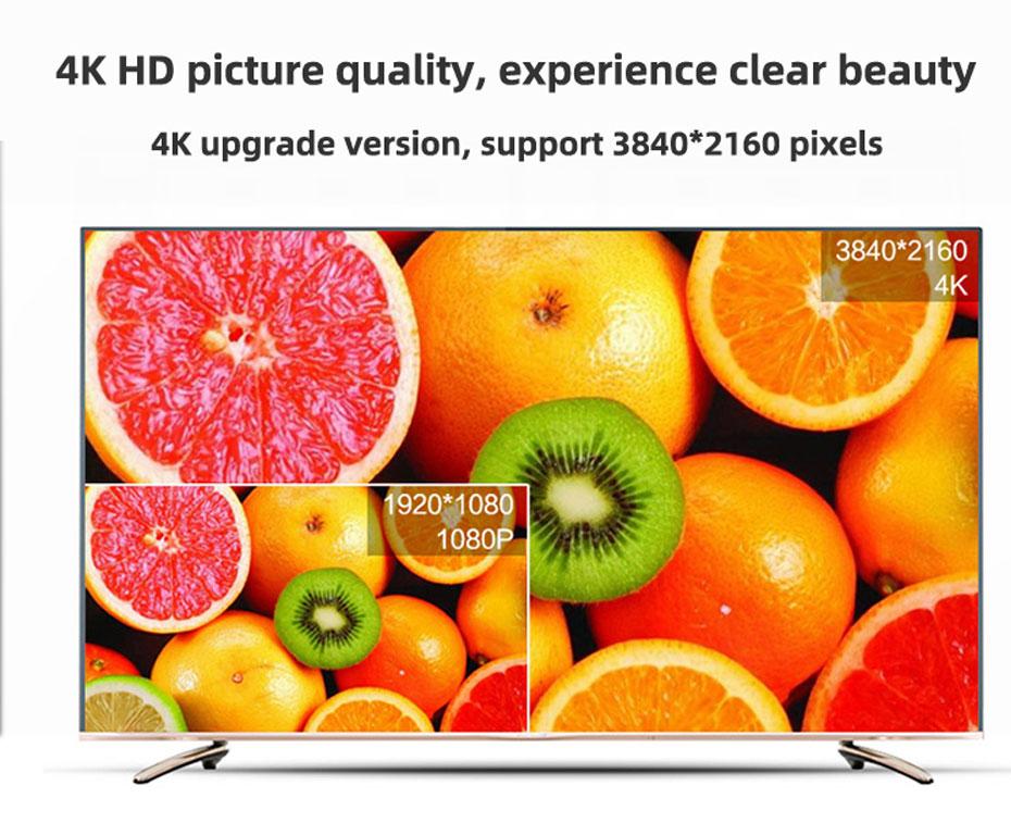 8-port HDMI splitter HD108 supports 3840*2160 resolution