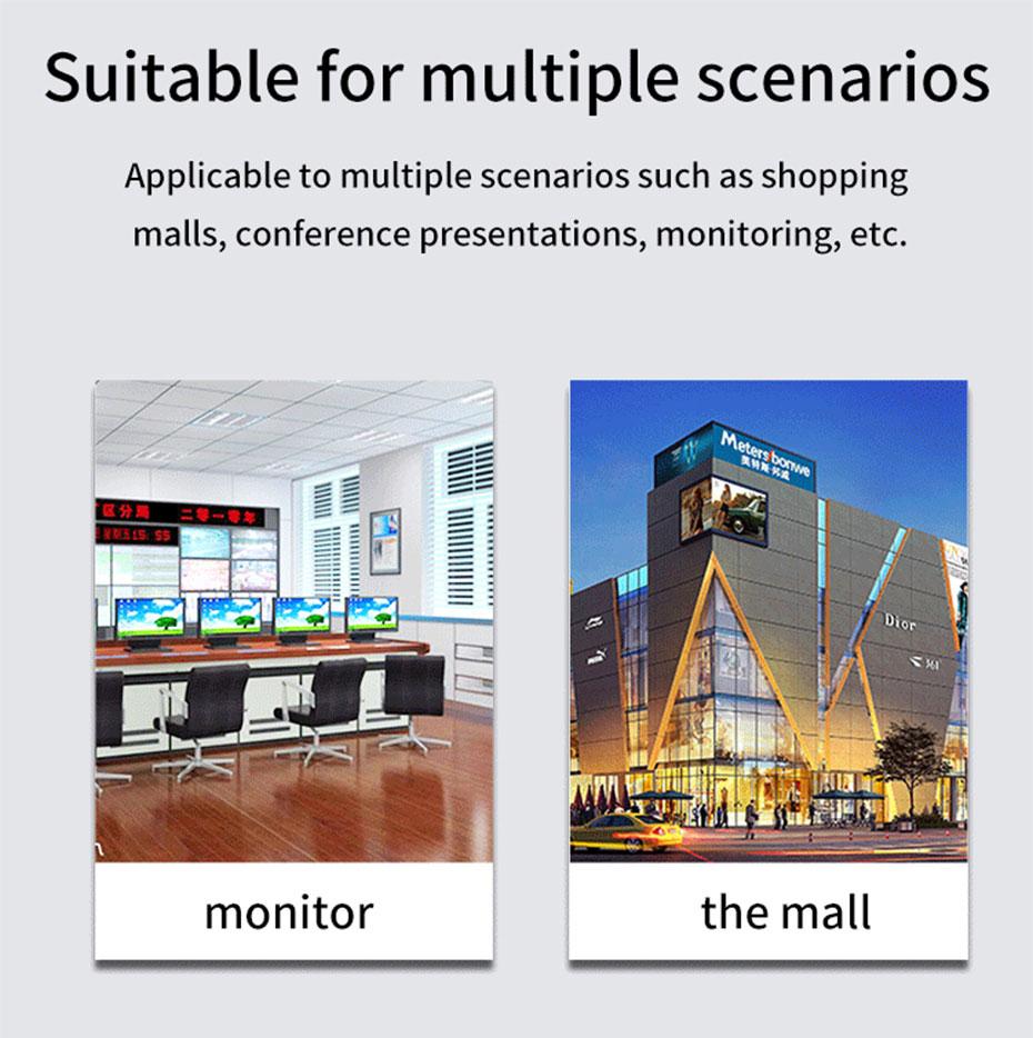 HDMI splitter 1 point 4 MiniHS104 some application scenarios