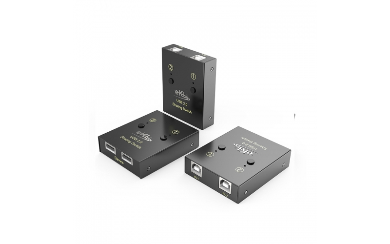 USB printer sharing device 2 in 2 out 02U