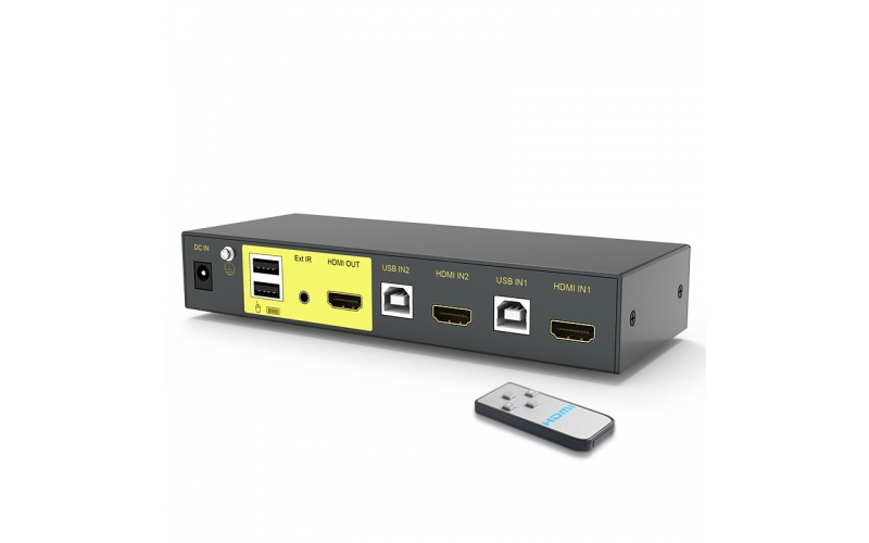 HDMI KVM switch 2 in 1 out 21HK