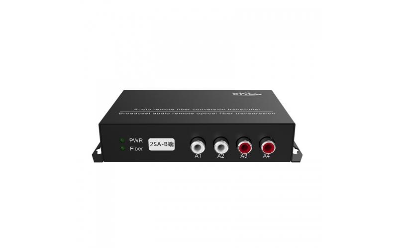 20 kilometers two-way two-way audio optical transceiver 2SA