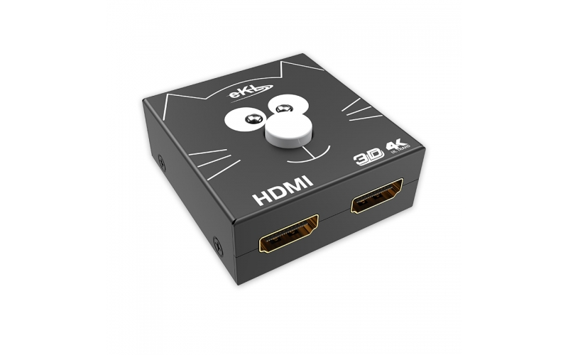 2 in 1 out / 1 in 2 out hdmi switch distributor 2H