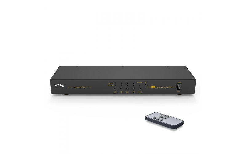HDMI KVM switch 4 in 1 out 41HK