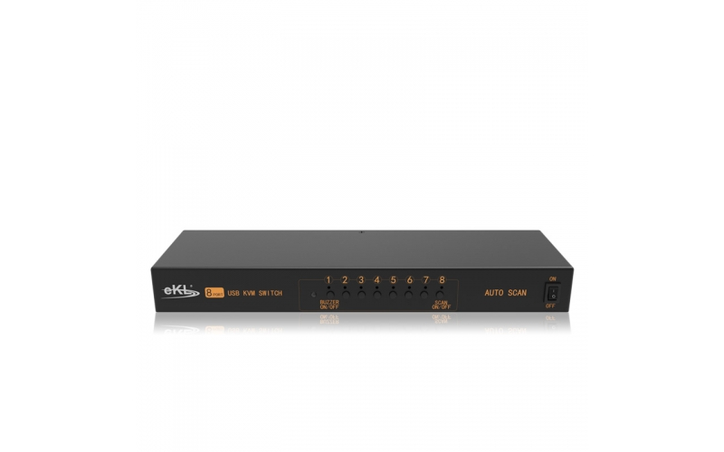 VGA KVM switch 8 in 1 out/2 out 81UA
