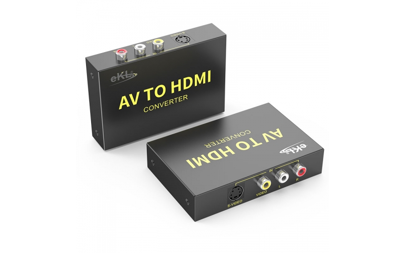 S-Video/AV to HDMI converter AVH