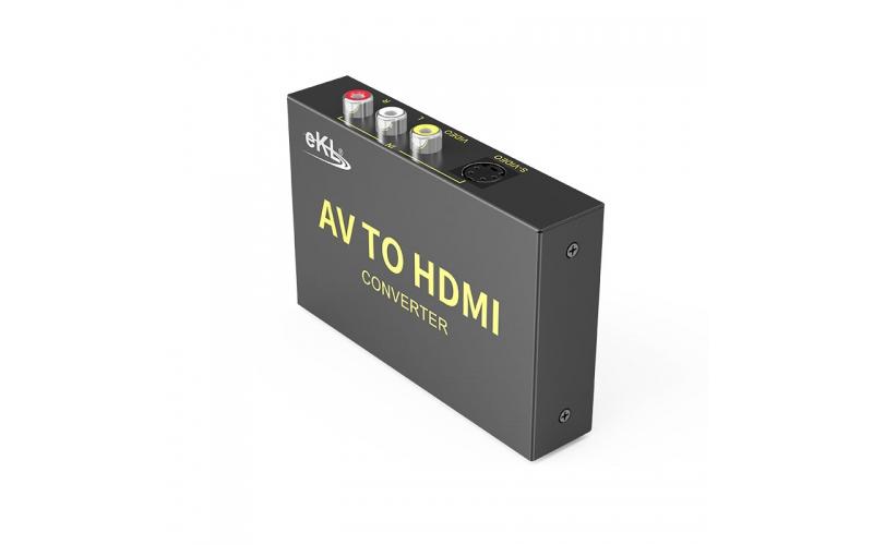 S-Video/AV to HDMI converter AVH