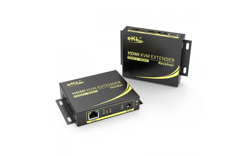 4K 100m HDMI KVM single network cable extender HCK100
