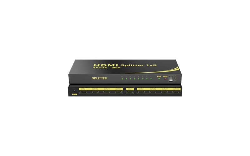 8-port HDMI splitter HD108