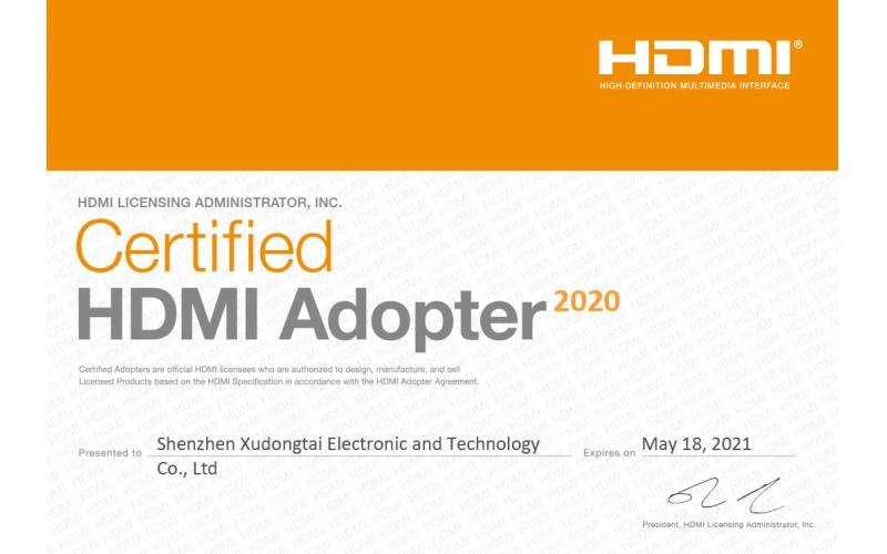 ekL join HDMI membership certificate